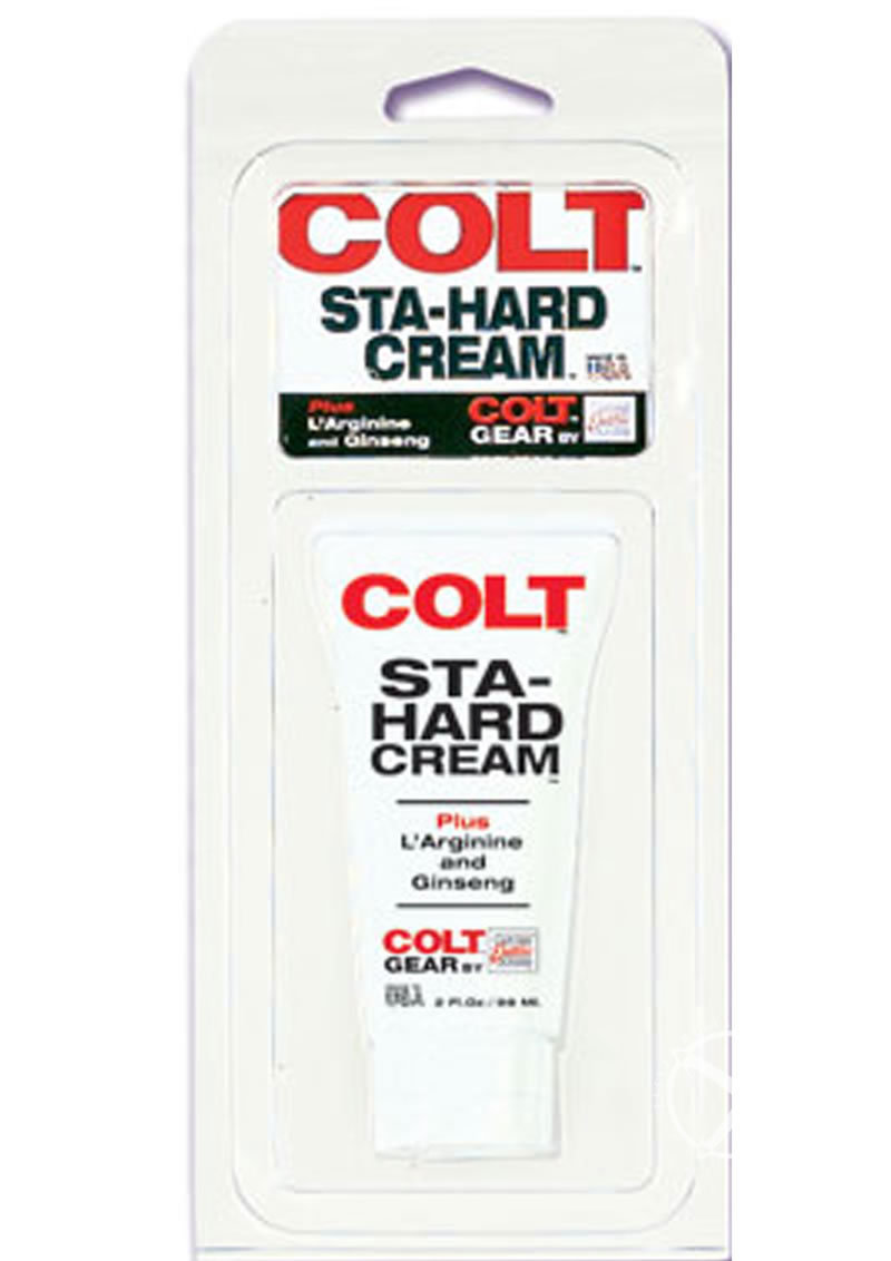 Colt Sta-hard Cream Male Genital Desensitizer 2oz - Bulk